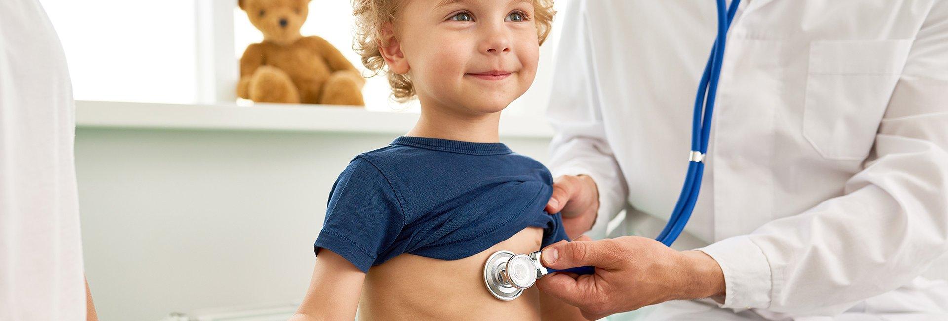 Wann muss ich mit meinem Kind zum Arzt?